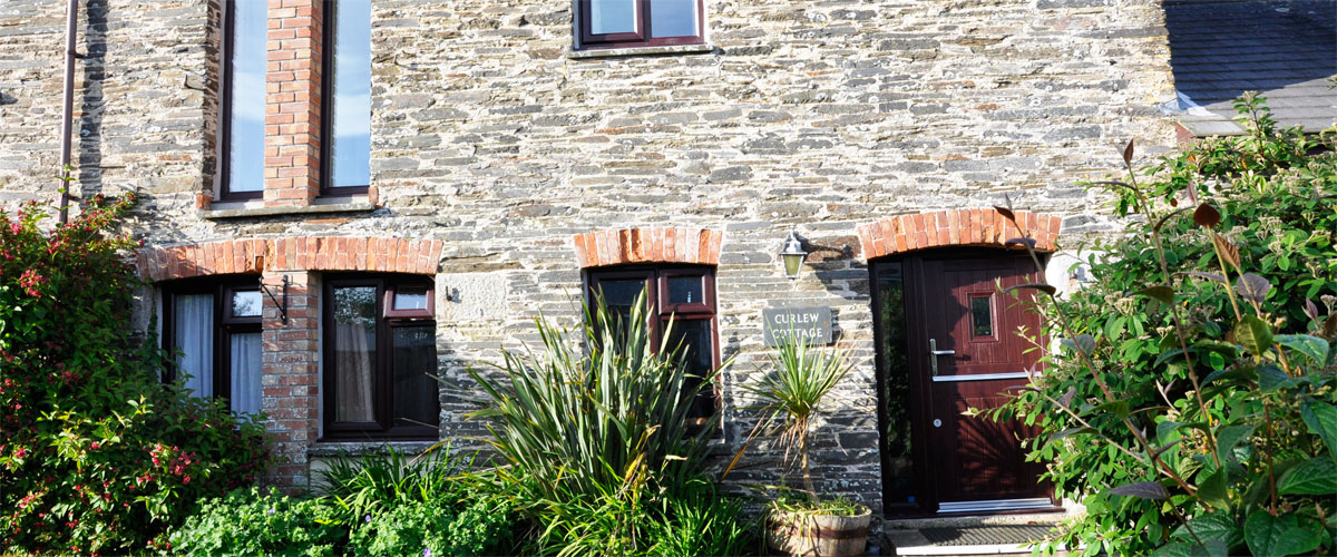 A family cottage converted from the former grain barn