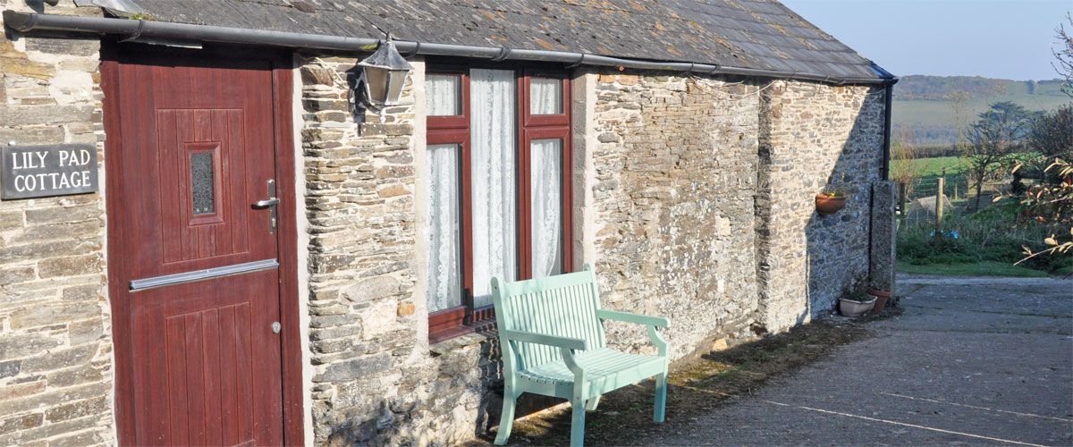 Lily Pad cottage - sleeps 2 (+ cot if required)