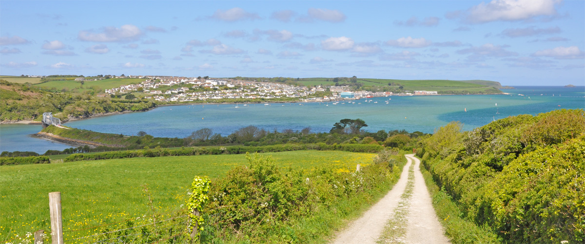 ..such a wonderful walk in to Padstow (about 40 minutes)..